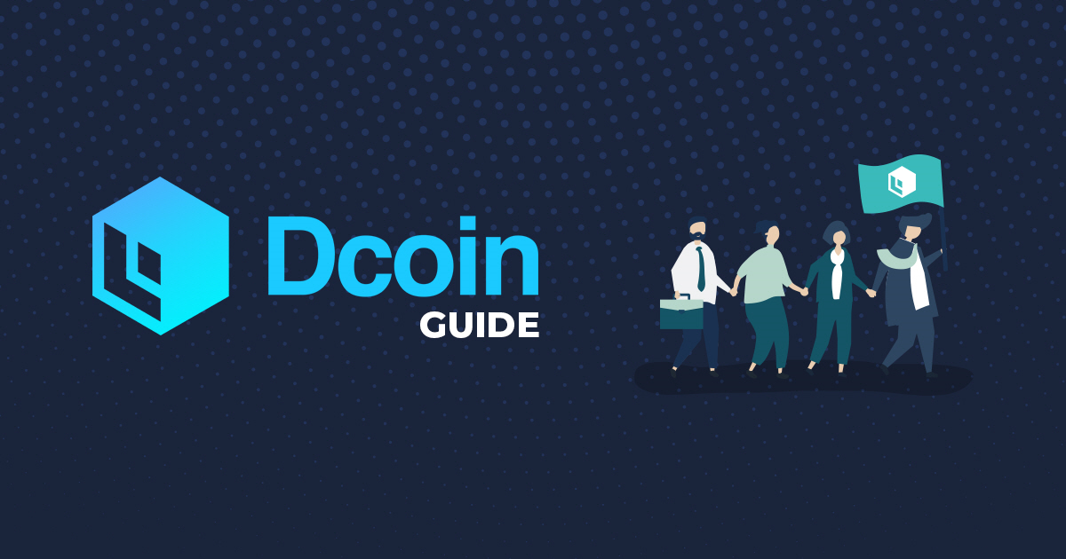 How to create an account on Dcoin